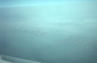Over Bombay India 1980