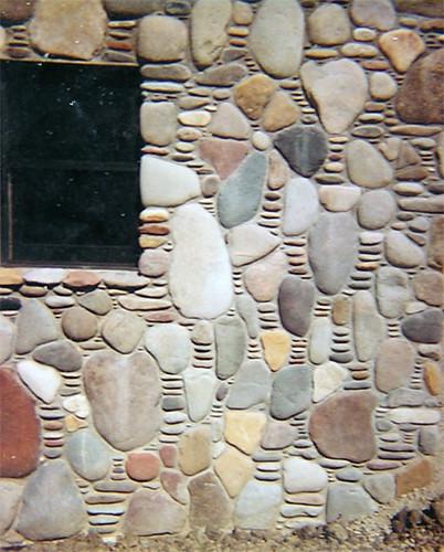 Arizona river rock wall flickr photo sharing for River rock wall