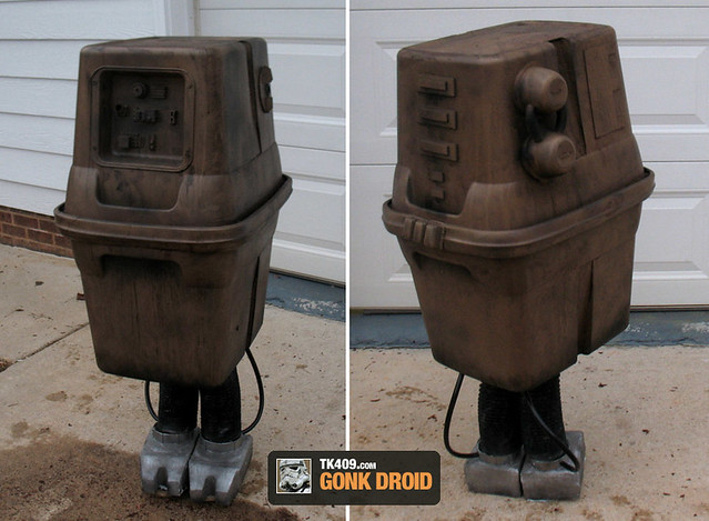 My Star Wars Gonk Droid Prop Costume
