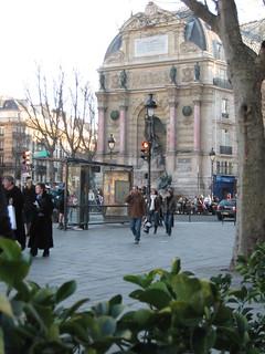 Image of Fontaine Saint-Michel. paris france europe flickr eu stmichel fontaine saintmichel parisgeotagged