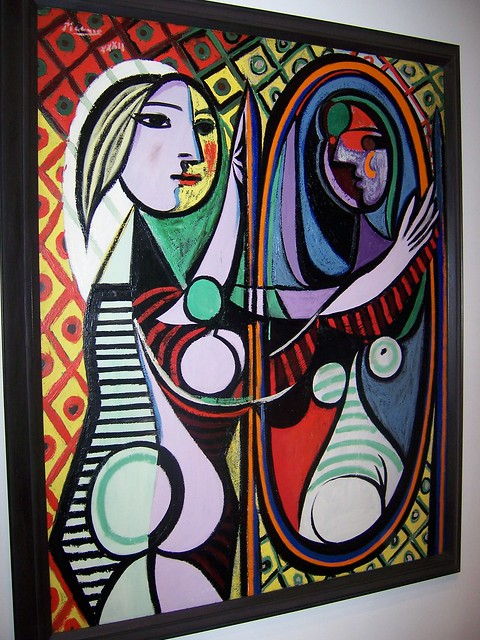 girl before a mirror pablo picasso flickr photo sharing. Black Bedroom Furniture Sets. Home Design Ideas