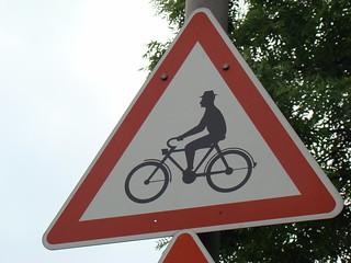 gentlemen on bikes