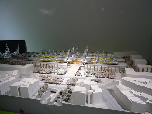 Antwerp Law Courts Model, Richard Rogers + Architects Exhibition, Design Museum by Loz Flowers