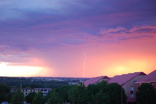storm weather flash omaha lightning thunder