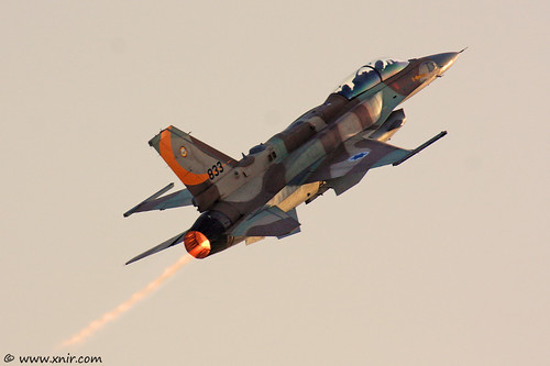 I feel the need....the need for speed!  Israel Air Force