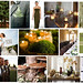 wood forest green brown wedding inspiration