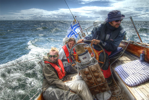 Santtu at the helm