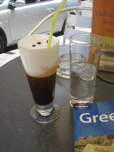 Coffee in Syros