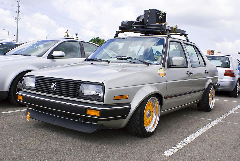 Vagkraft 2008   273   VW Jetta MK2 Roof Rack