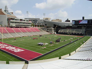 UC Bearcat Football Practice