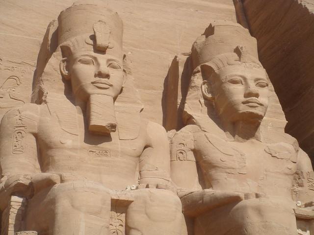 Header of Abu Simbel