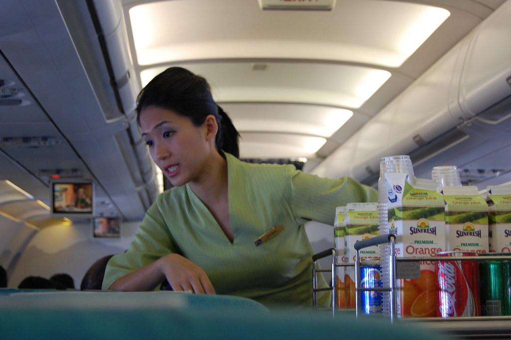 Silk Air Flight Attendant