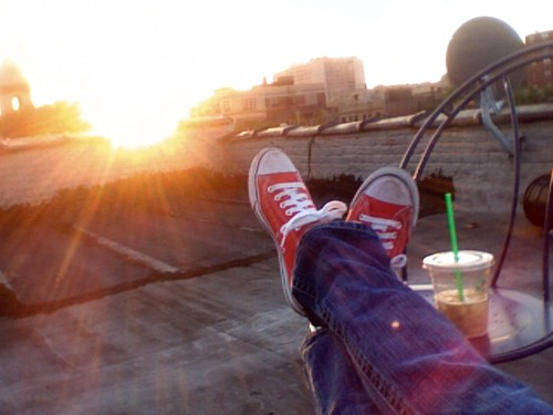 *rooftop*Sonntagabend*