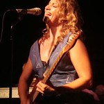Joan Osborne performing at The Cutting Room for an FUV crowd and special broadcast