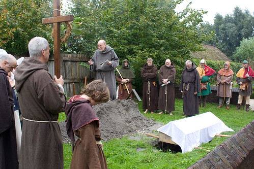 medieval burial service