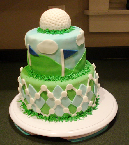 Golf, Golf cakes and 40th birthday on Pinterest