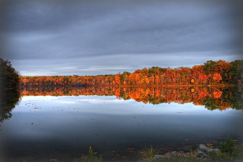county camera autumn red orange usa lake reflection fall leaves yellow photography pond sony reservoir pa series 300 alpha dslr 2008 hdr lackawanna dunmore a300 α pennsylavania a dslra300 α300 dslr300 dslra300k αlpha dslrα300 dslrα300k