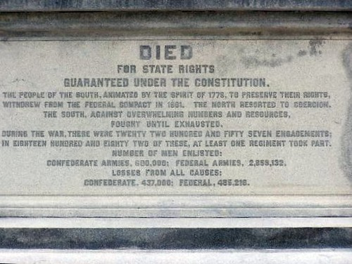 Inscription On Texas Confederate Monument Flickr Photo