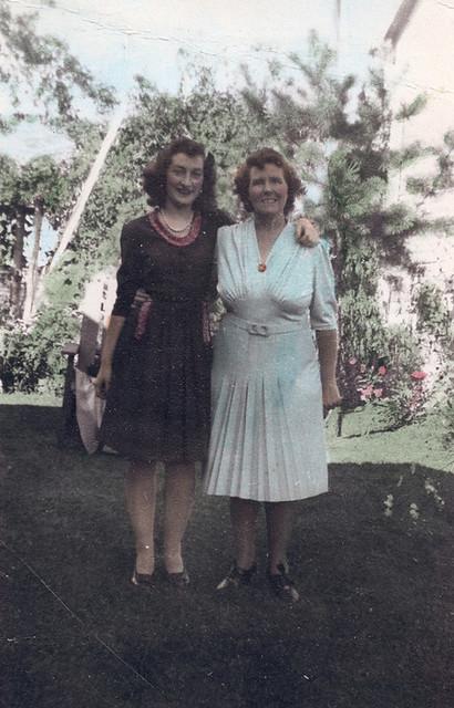 Carol and Louize Oct 14, 1943