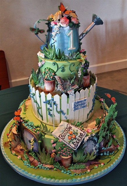 Garden Party Cake Images : 1st Birthday Garden Flickr - Photo Sharing!
