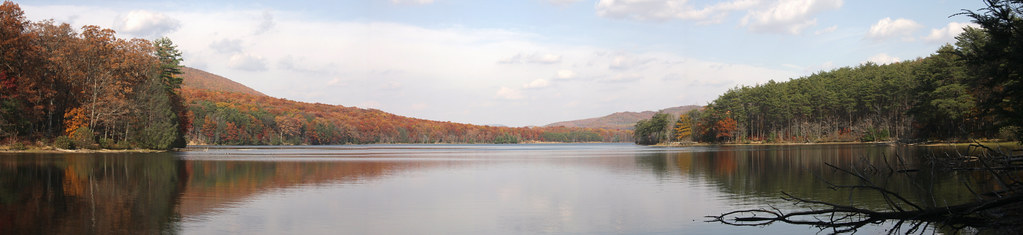 Rocky Gap State Park, Lake Habeeb 1 Nov 2008 3