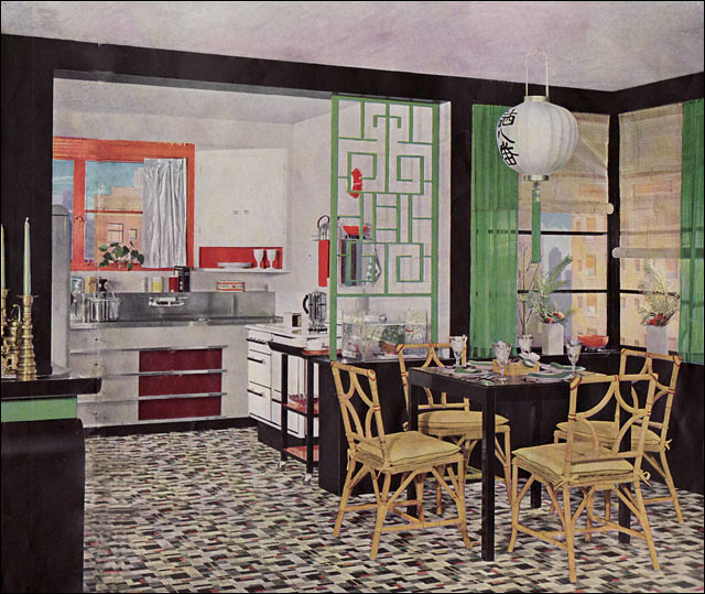 1935 Armstrong Kitchen - Asian Theme