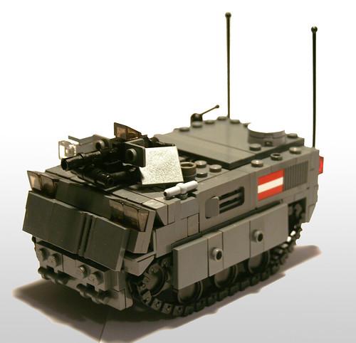 RAMM Schuft Tracked Reconnaissance Vehicle