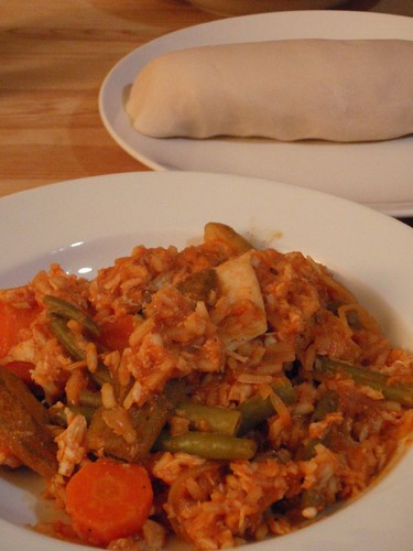 Burkina Faso Fish and Okra Stew (Maan Nezim Nzedo)