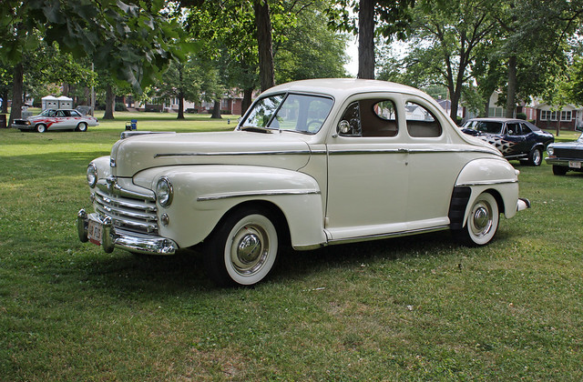 1948 ford super deluxe 8 business coupe 2 door sedan 6 of for 1948 ford 2 door coupe