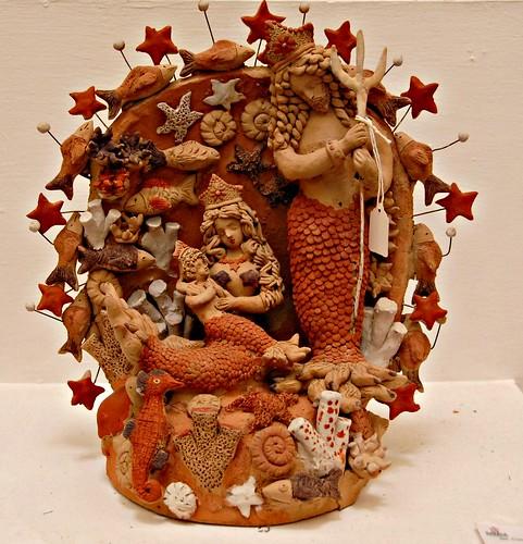 Mermaid Nativity Mexico