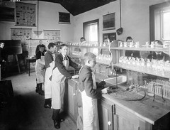Science laboratory at Waterpark College, Waterford