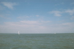Sailboats on the Bay (Higher Exposure)