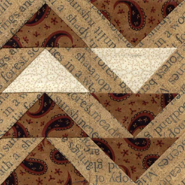 Civil War Love Letter Quilt E5