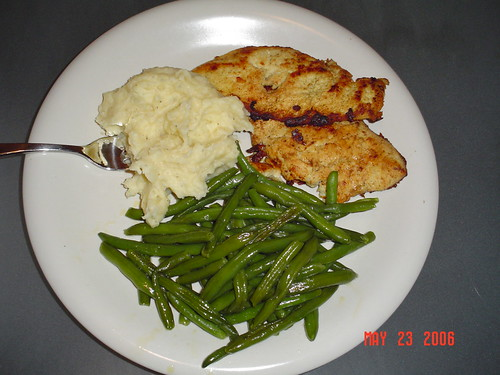 Chicken breast dinner