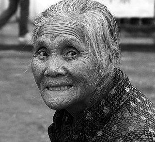 Old Woman B&W