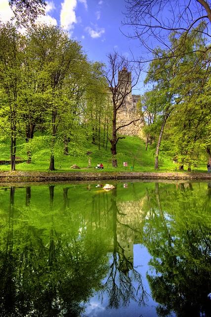 poza Castelul lui Dracula, Bran, Romania