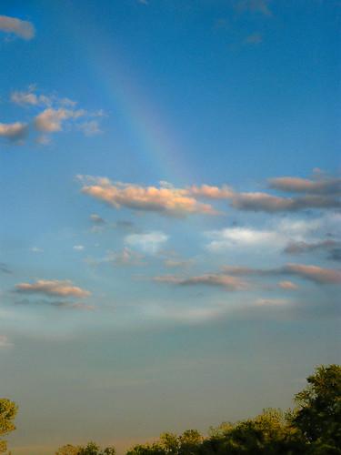 summer clouds boat rainbowmorrisboatingillinoisriver