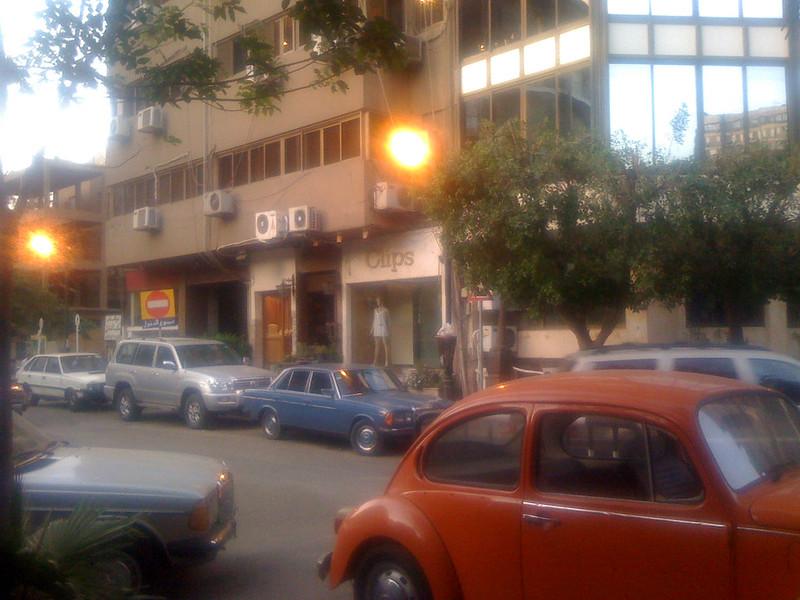 street in zamalek