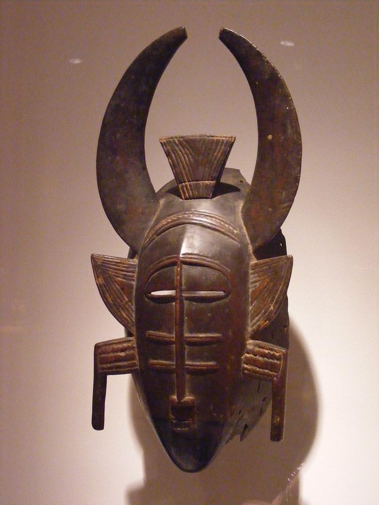 NMAfA_Mask (Senufo people, Cote d' Ivoire)