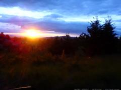 beautiful sunset on rachel's birthday   DSC00861