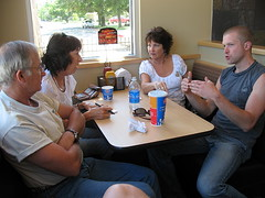 At Dairy Queen