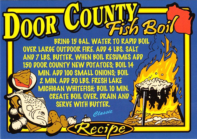 Door county fish boil flickr photo sharing for Door county fish boil
