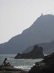 En el Cabo de Gata.