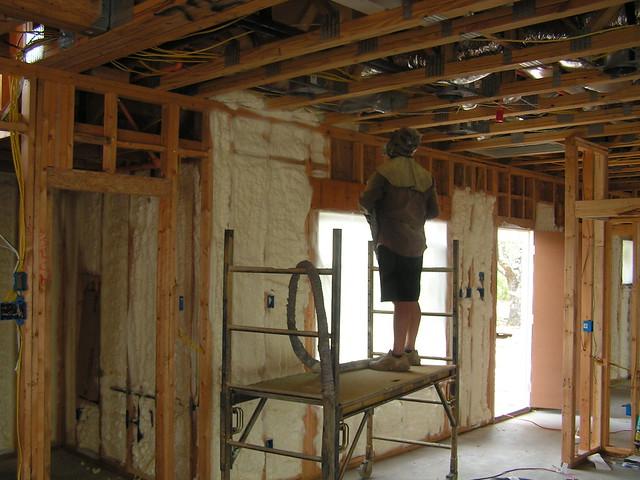 Exterior insulating foam foam insulation tips for Exterior insulation