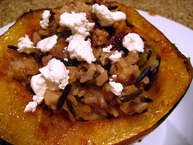 Stuffed Acorn Squash | Flickr - Photo Sharing!