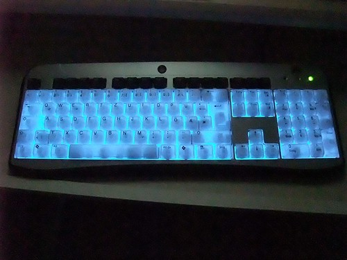 illuminated keyboard