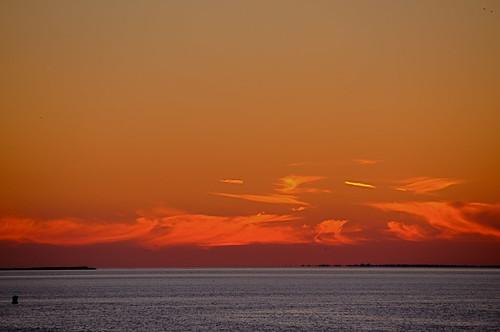 beach boats bridge clouds drawbridge imran imrananwar jet longisland moon moonrise newyork ny ocean park planes red smithpoint sun sunset water