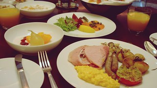Breakfast at French Kitchen - Grand Hyatt Tokyo