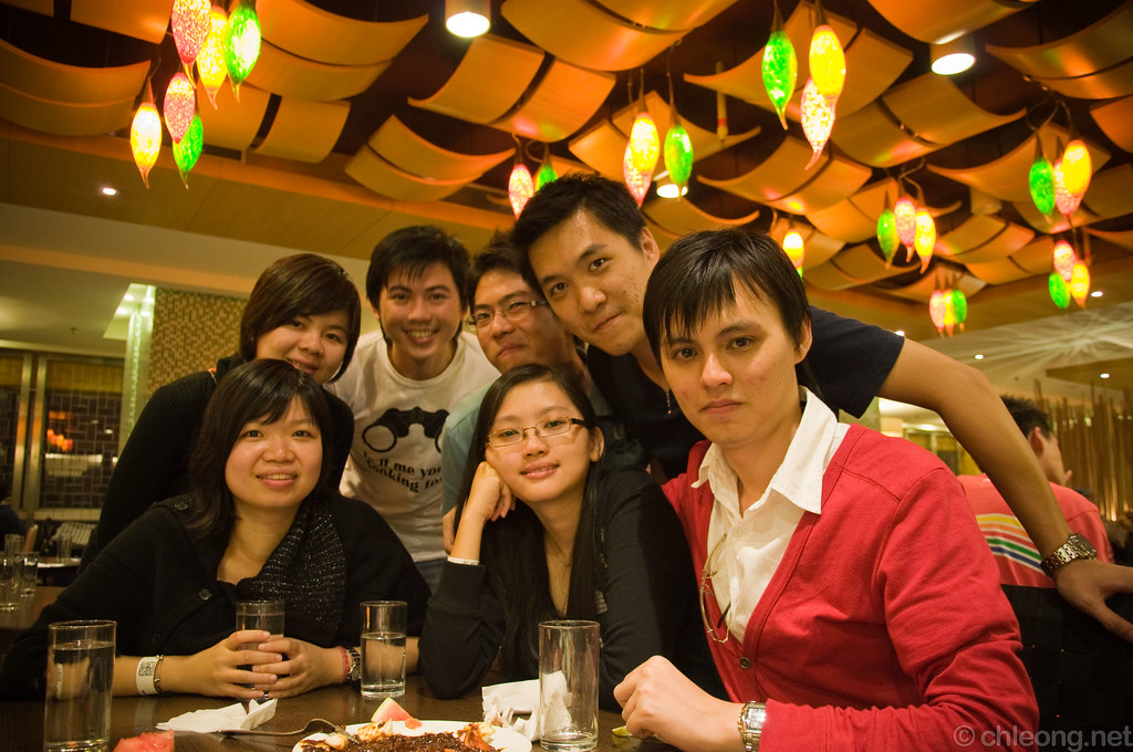 Dinner at Resort Cafe / Kampong Restaurant
