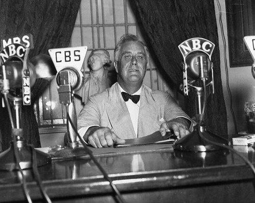 "fdrs first fireside chat In his first fireside chat on march 12, 1933, roosevelt explained the emergency  banking act as legislation that was ""promptly and patriotically passed by the."